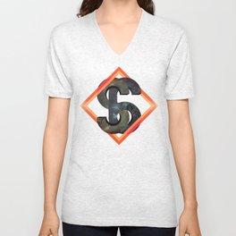 S6:  Society6 Universe Unisex V-Neck