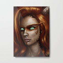 Wild eyes Metal Print