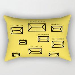 TELEKINESIS Rectangular Pillow