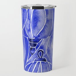 Vietnamese Lanterns – Navy Travel Mug