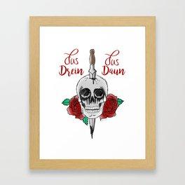 Jus Drein Jus Daun  Framed Art Print