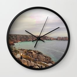 The Minack Theatre, Porthcurno, Penzance England Wall Clock