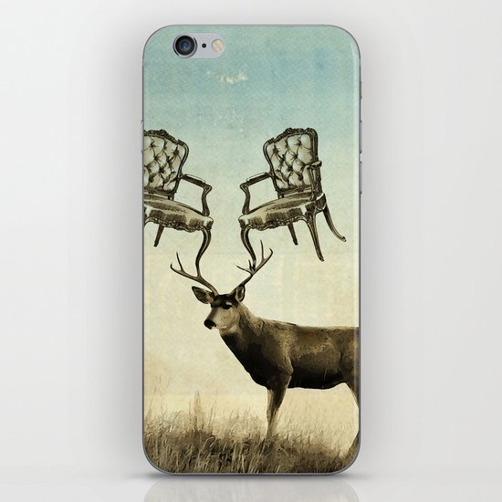 louis xv stag chairs iPhone & iPod Skin