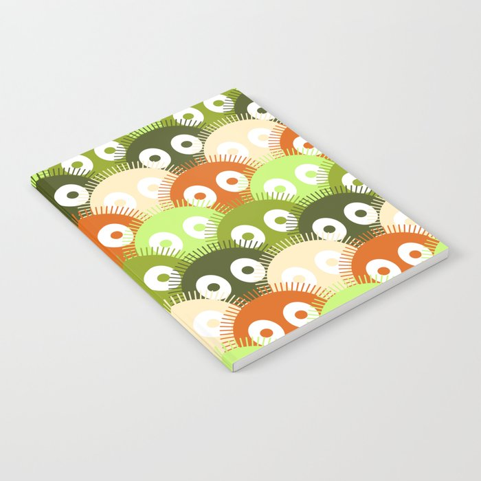 susuwatari pattern (color version) Notebook