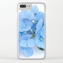 Blue Hydrangeas #1 #decor #art #society6 Clear iPhone Case