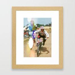 s&m bikes racer Framed Art Print