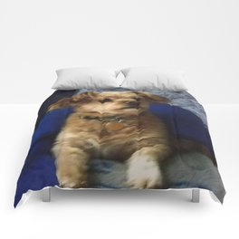 The Cute Pup Comforters