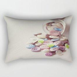 Need Buttons? Rectangular Pillow