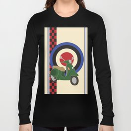 Scooter and mod symbols. Long Sleeve T-shirt