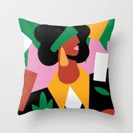 Looking Further Throw Pillow