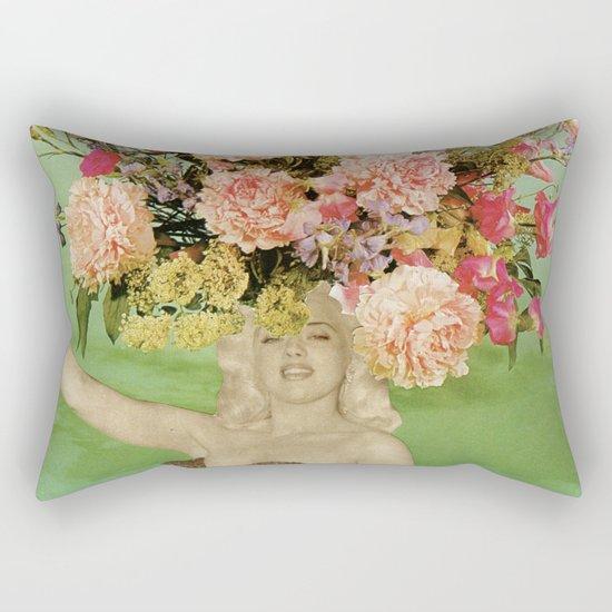 Floral Fashions II Rectangular Pillow