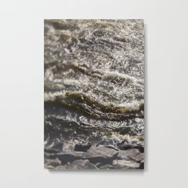 Torrent river Metal Print