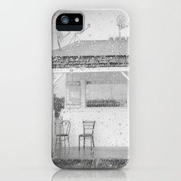 They Were Here iPhone Case