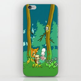 Deep inside the Forest iPhone Skin