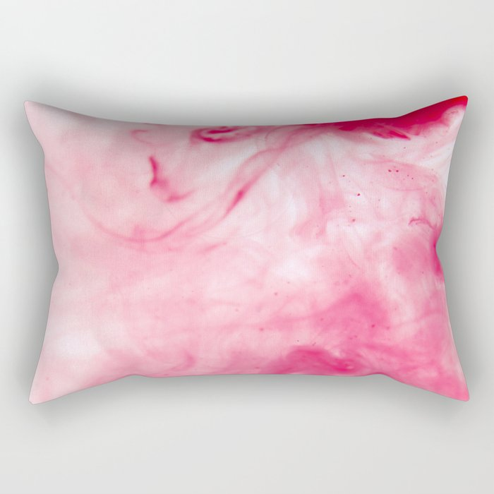 Abstract Blood Rectangular Pillow
