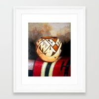 african Framed Art Prints featuring African by Amani Al Hajeri