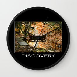 Inspirational Discovery Wall Clock