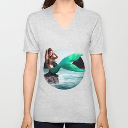 The Mermaid Unisex V-Neck