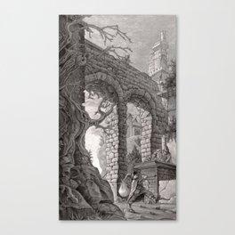 Tower 5 Canvas Print