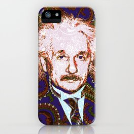 psychedelic quantum physics genius E = mc2 iPhone Case