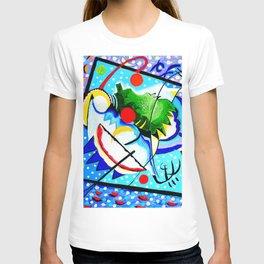 Abstract Lines and Circles T-shirt