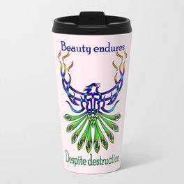 Beauty and Strength Travel Mug