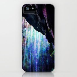 Enchanted Waterfall. iPhone Case