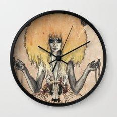 A R I E S - Coloured Wall Clock
