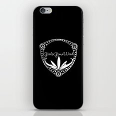 GGDUB CREST  iPhone & iPod Skin