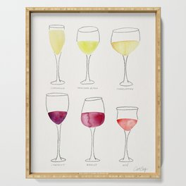 Wine Collection Serving Tray