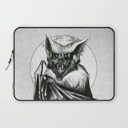 Bloodlust - Black and white Laptop Sleeve
