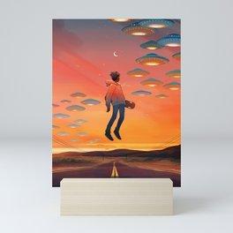 Leaving Mini Art Print