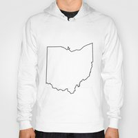 ohio state Hoodies featuring Ohio by mrTidwell