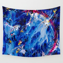 As The Universe Falls Together Wall Tapestry