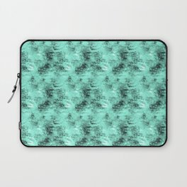 Patched Teal Waters Laptop Sleeve