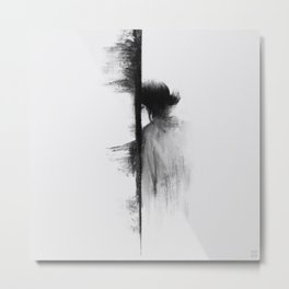 Exhausted Metal Print