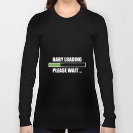 Baby Loading Women Long Sleeve Pregnant T-Shirts Long Sleeve T-shirt