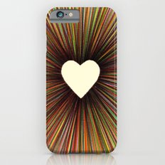 heart radiant color Slim Case iPhone 6s