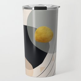 Modern minimal forms 24 Travel Mug