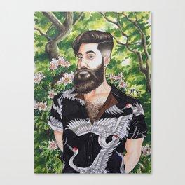 Self Portrait 2017 Canvas Print