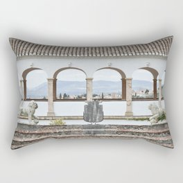 View from Top (Generalife) Rectangular Pillow