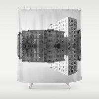 washington Shower Curtains featuring Washington D.C. by Nick Coleman