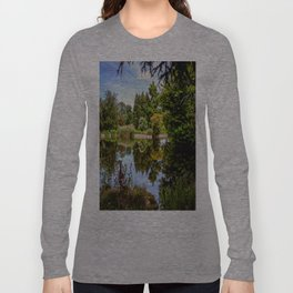 Lakeside reflections. Long Sleeve T-shirt