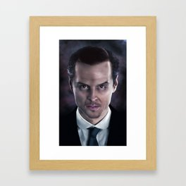 baby.there's.a.stranger.in.the.house Framed Art Print