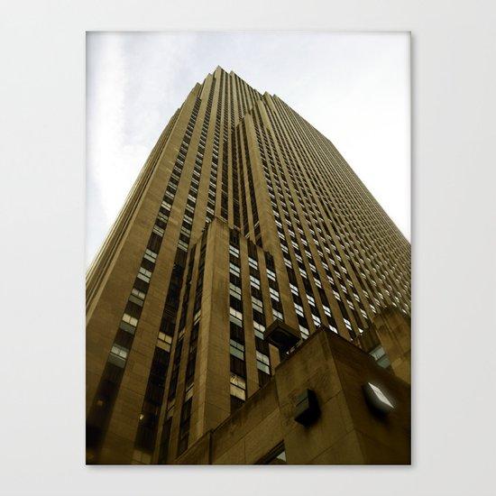 Rockefeller Building Canvas Print
