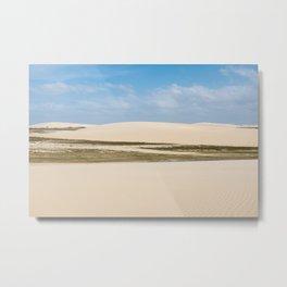 Sun, Wind & Sand (IV) Metal Print