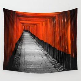 Fushimi Inari Shrine Wall Tapestry