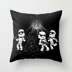 Dark Side Disco Dancing Throw Pillow