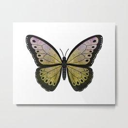 kiwi velvet (Villutus kiwi) fantasy butterfly Metal Print