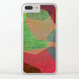WORLD OF DREAMS Clear iPhone Case
